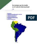Ventajas y desventajas que ha tenido Venezuela en el Contexto Internacional.docx