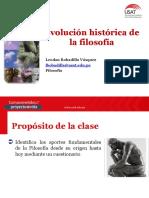 Evolución Histórica de La Filosofía