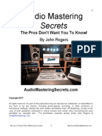 Audio Mastering Secrets PREVIEW 10
