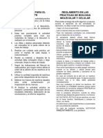 Practica 1 y Practica 2- Biologia Molecular y Celular-2019