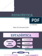 Conceptos Básicos de Estadística