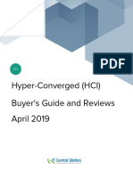 Hyper converged HCI Buyers Guide and Reviews April 2019