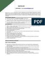 Kavya Sales.resume
