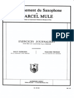 M.mule Exercices Journaliers