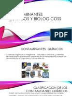 Contaminantes Químicos y Biologicoss