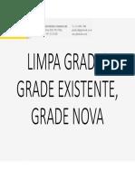 Limpa Grades Modificado Para Grade Nova