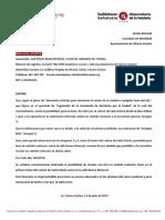 (03/2019) Falta Señalización Excepto Bicis en el Casco Viejo