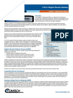 Comtech/EFData H-Pico Heights Remote Gateway Datasheet