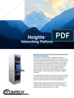 Comtech/EFData Heights Networking Platform Overview