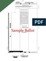 Madison Election Sept 10 Sample Ballot