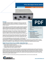Comtech/EFData H-Plus ODU Heights Remote Gateway Datasheet