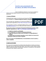 Instructivo Informe Avance Director