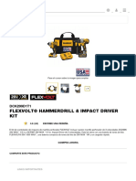 FLEXVOLT® Hammerdrill & Impact Driver Kit - DCK299D1T1 _ DEWALT