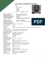 CV of Bedioune Omar 1