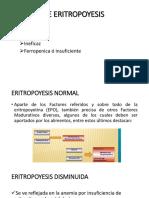 Tipos de Eritropoyesis