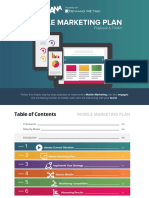 ANA Mobile Marketing Plan Playbook