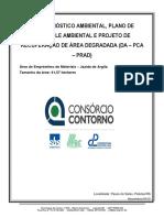 PRAD - Plano de Recuperação de Áreas Degradadas (MODELO)