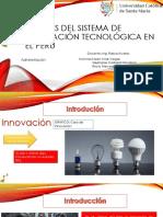 Análisi Del Sistema de Innovación Tecnológica en El Perú