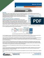 Comtech/EFData Memotec HX Series Datasheet