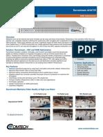 Comtech/EFData Durostream AHA725 Datasheet