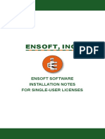 Ensoft Shaft Installation Notes