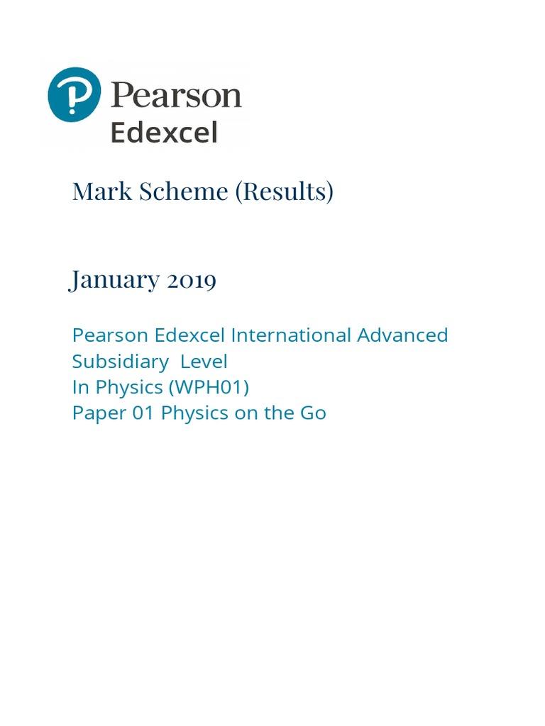 Edexcel physics gce coursework how to write an external memorandum
