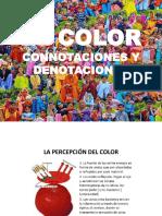 El Color y Sus Connotaciones y Denotaciones