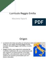 Currículo Reggio Emilia