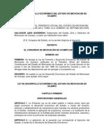 NUEVOS REQUERIMIENTOS DEL ESTADO DE MICHOACAN EN SISTEMA LEGAL