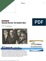 Gonzalo Barrios Un Hombre Libre ACN