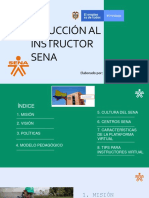 Induccion Al Instructor Sena