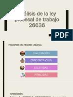 Análisis de la ley procesal de trabajo 26636.pptx