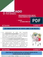 3 Clase - Productos Sin Receta Medica
