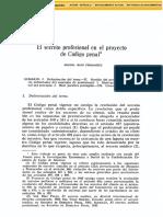 Dialnet-ElSecretoProfesionalEnElProyectoDeCodigoPenal-46173