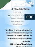 Trabajo final de multimedia