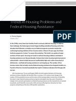 Trends in Housing Problems and Federal Housing Assistance