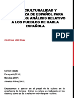 INTERCIULTURALIDAD Y ENSEÑANZA DE ESPAÑOL PARA BRASILEÑOSpresentación.pptx