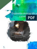 Explosion Demografica- Energia