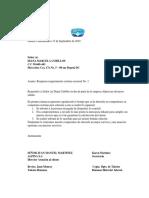 Trabajo Cartas, Sugerencias, Derechos de Peticion, Respuestas