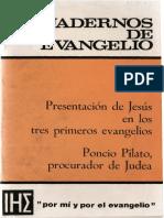 Cuadernos de Evangelio