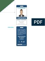 Identificación Carné Contratista