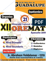 Bases Oremat 2019