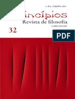 Revista Princípios - Dossiê Filosofia Contemporânea
