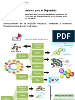 Clase 5 Micronutrientes en La Práctica Deportiva