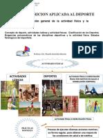 Clase 1 Deporte y Actividad Física