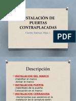 INSTALACIÓN DE PUERTAS CONTRAPLACADAS.pptx