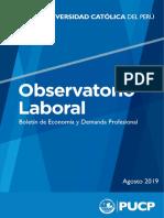 Boletín de Economía y Demanda Laboral - II Trimestre 2019