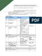 Anexo 1. Agenda Transferencia