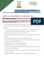 Preguntas SIMCE 1 Medio