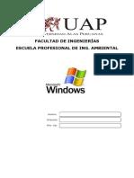 Manual Windows Alas